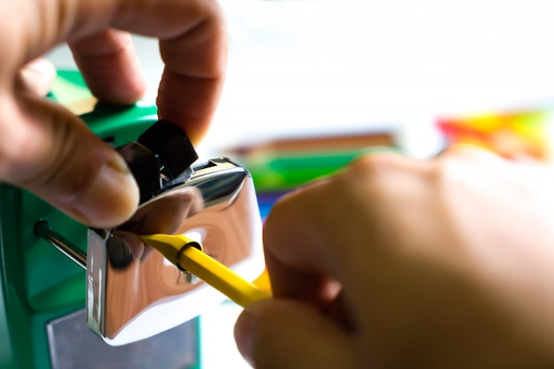 Pencil sharpener machine for kid