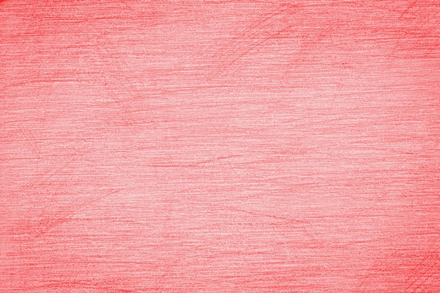 Pencil strokes on the paper, pencil drawing texture abstract background toned in trendy color 2020 year flame scarlet.