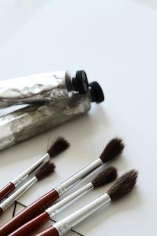 鉛筆と水彩