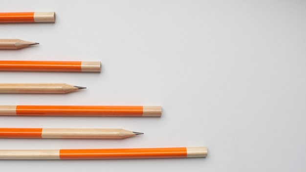 연필 흰색 절연