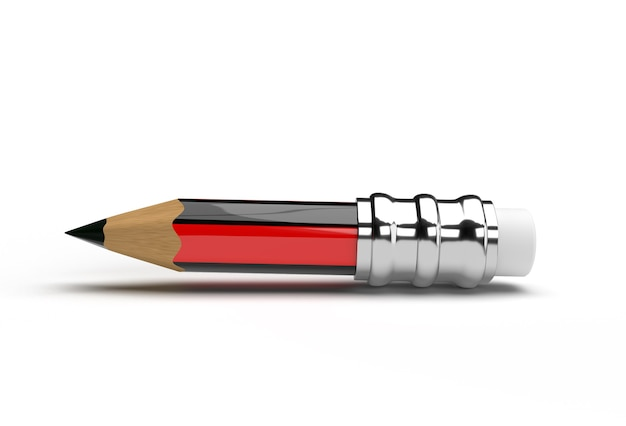 Pencils with rubber pen tool created clipping path included in jpeg easy to composite.