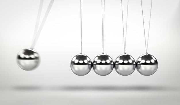 Pendulum swing three dimensional