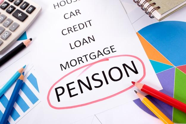 Pension checklist
