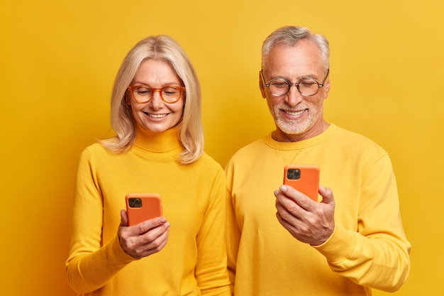People age lifestyle and modern technologies concept