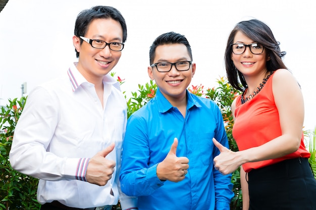 People of asian creative or advertising agency