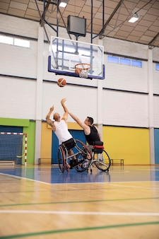 People doing sports with disabilities