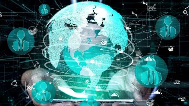 ピープルネットワークとグローバルコミュニケーションの概念