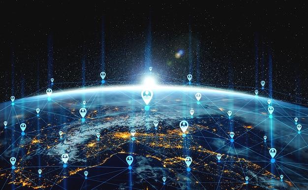 혁신적인 인식에서 사람 네트워크 및 글로벌 지구 연결
