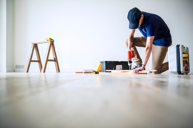 家のコンセプトを改築する人々