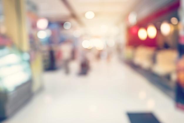 People shopping in department store. defocused blur background.  people shopping in department store. defocused blur background.