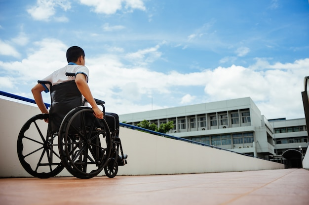 People with disabilities can access anywhere in public place with wheelchair