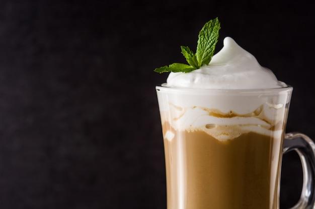 Peppermint coffee mocha