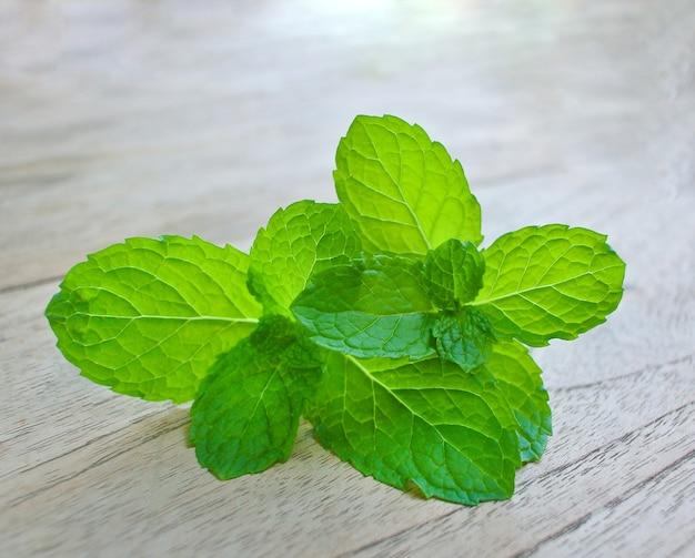 페퍼민트 잎은 wood.herb에 aroma.herb '좋은 냄새. 오일 마사지에 사용됩니다.