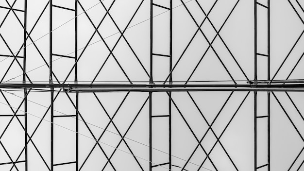 Perfect architecture of a scaffolding elements.