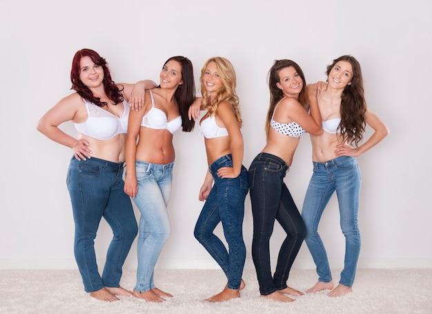 Идеальные джинсы для вашего силуэта