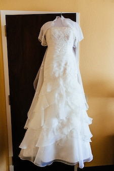 The perfect wedding dress with a full skirt
