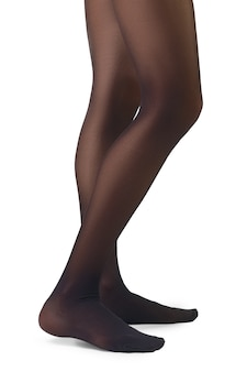 Perfect woman's legs in pantyhose