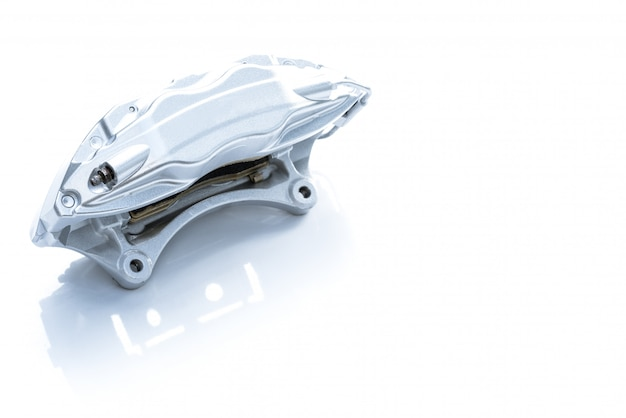 Performance braking system,  new silver racing brake caliper