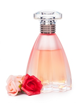 Perfume bottle isolated