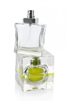 白の香水瓶
