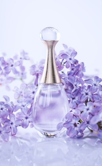 Perfume with lilac