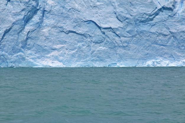 ペリトモレノ氷河近く、アルゼンチン、パタゴニア、エルカラファテ