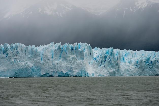 Perito moreno glacier, lake argentino, los glaciares national park, santa cruz province, patagonia,