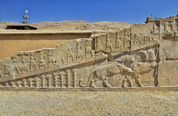 Persepolis is the capital of the ancient empire in iran