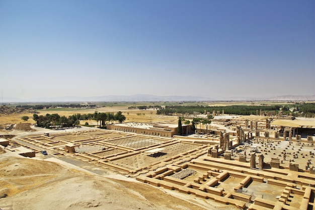 Premium Photo Persepolis Is The Capital Of The Ancient Empire In Iran