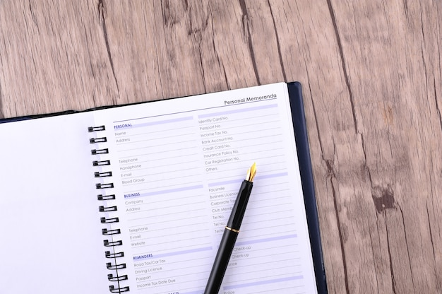 Personal information to be fill in - many uses for business