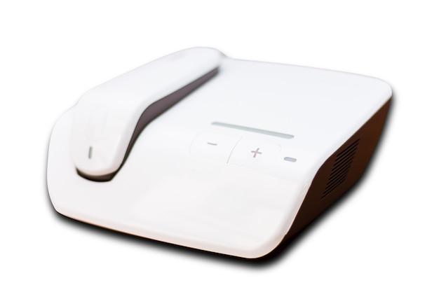 Personal ipl laser epilation isolated on white