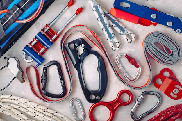 Personal safety equipment using in climbing