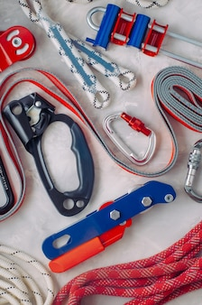 Personal safety equipment using in working on height
