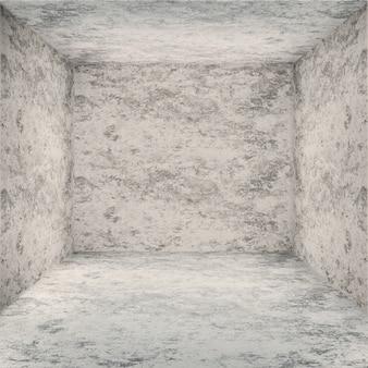Prospettiva sfondo trama showroom cubo