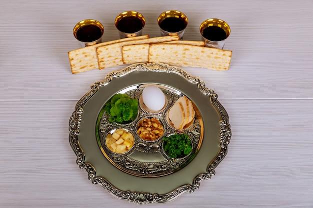 Pesah celebration concept jewish passover holiday