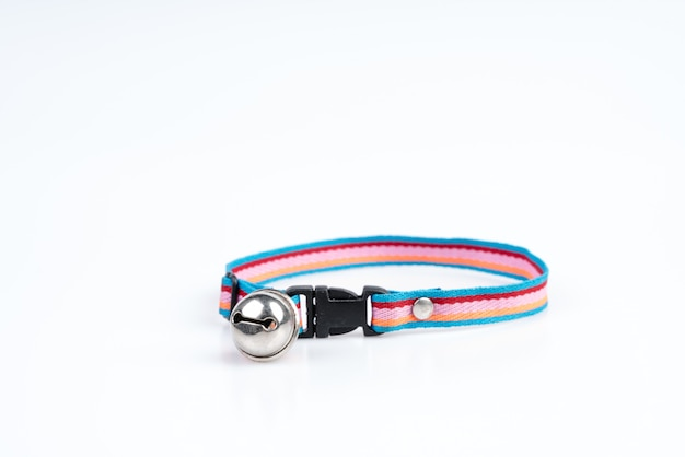 Pet collar with bell for dog and cat