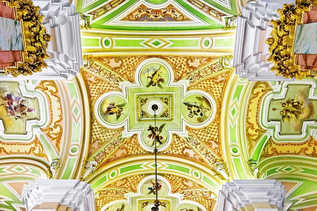 Peter and paul fortress. interior. saint-petersburg. russia