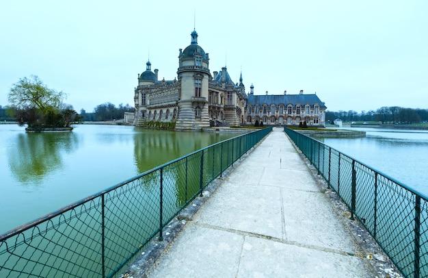 The petit chateau and grand chateau rebuilt