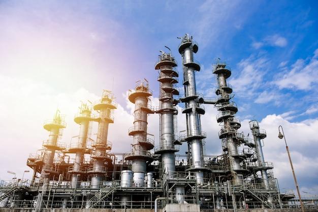 石油産業プラント