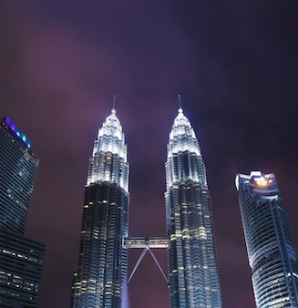 Petronas twin towers were the tallest buildings in the world