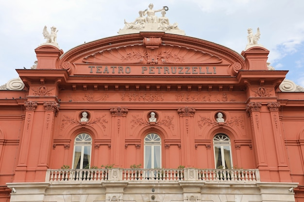 Petruzzelli theatre is the largest theater in the city of bari, italy