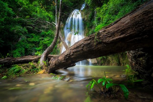 Pha nam yod waterfall.