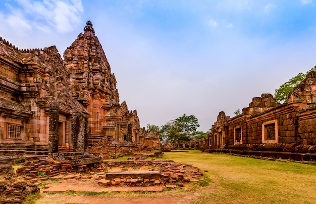 Phanom rung historical park, is an ancient khmer castle that has been regarded as one of the most beautiful in thailand.
