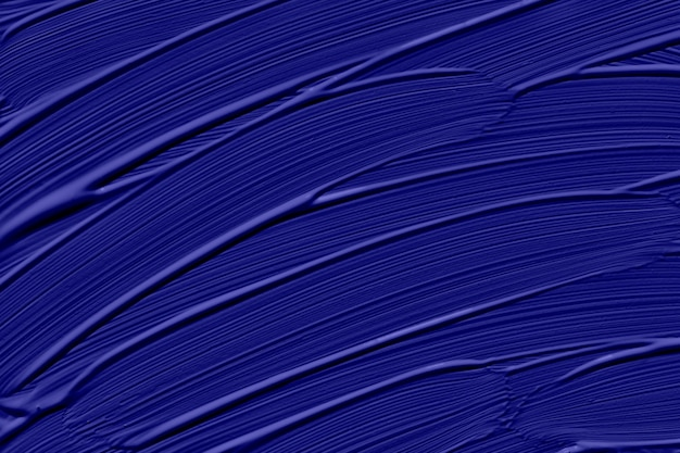 Phantom blue trendy color of the year 2020. abstract art background with brush strokes. monochrome color texture.