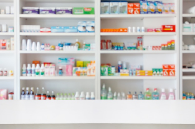 Pharmacy drugstore background
