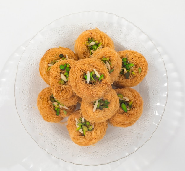 Pheni or fini sweet food