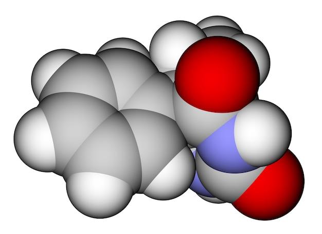 Молекулярная структура препарата для фенобарбитальной эпилепсии