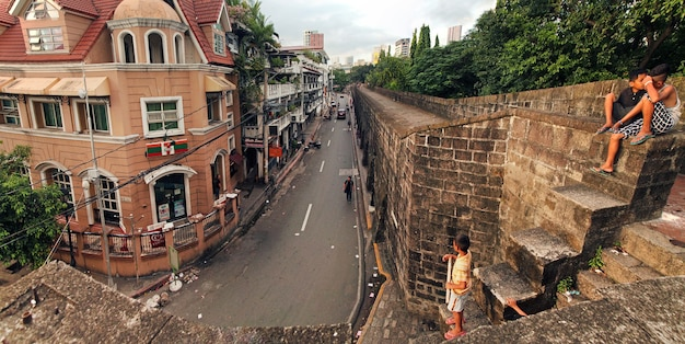 フィリピンサンチャゴ要塞はマニラで最も重要な史跡の1つです