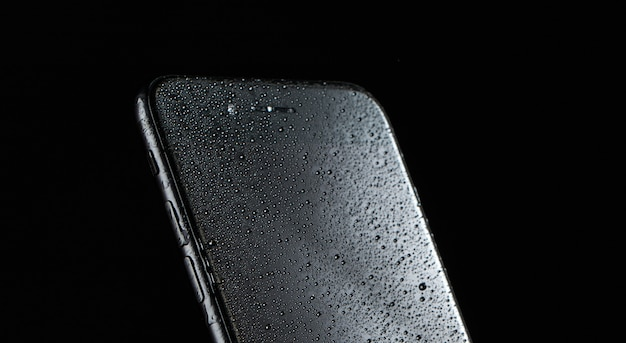 Phone advertising photo , moisture protection