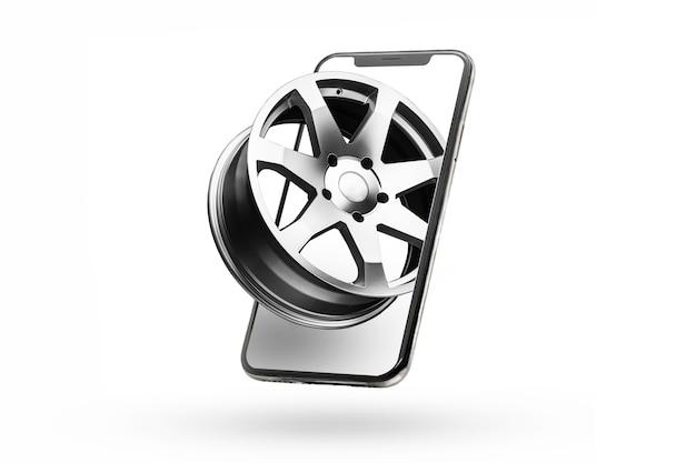 Телефон и литые диски онлайн-доставка автозапчастей и шин